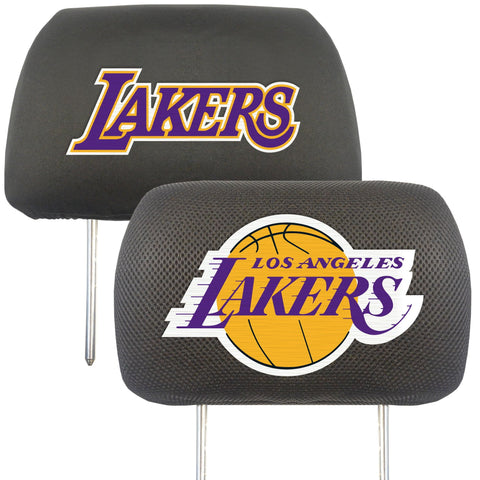 NBA - Los Angeles Lakers Set of Set of 2 Headrest Covers