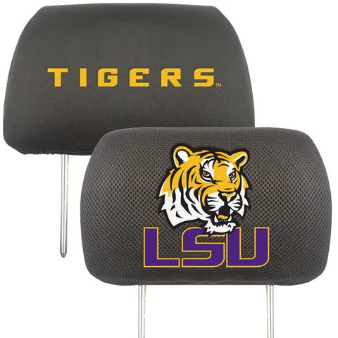 Louisiana State University Set of 2 Headrest Covers