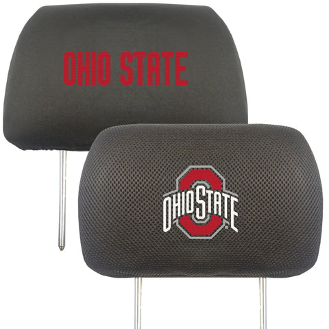 Ohio State University Buckeyes  4pc Car Mats,Headrest Covers & Car Accessories