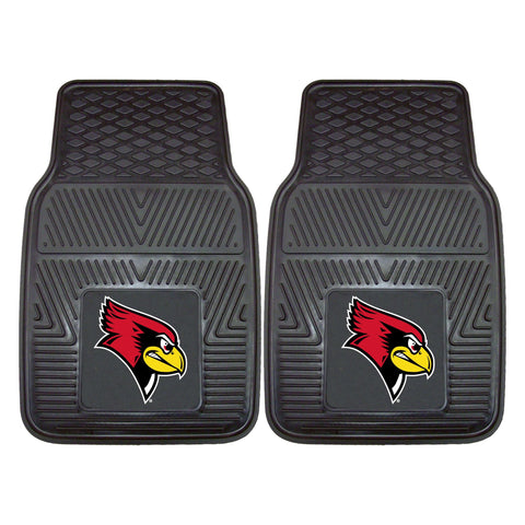Illinois State Redbirds 2-pc Front Vinyl Car Mats