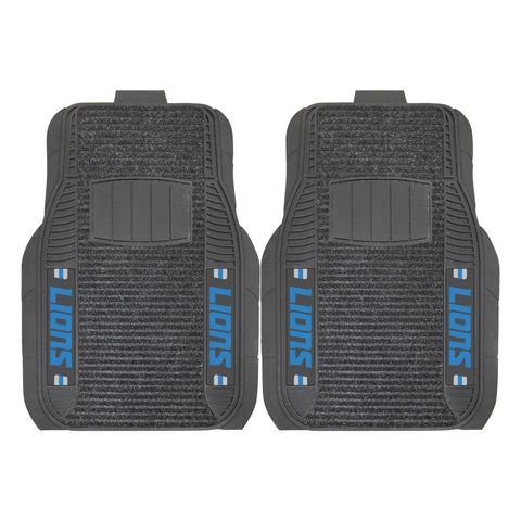 Detroit Lions 2-pc Front (Vinyl/Carpet) Car Mat Set 21