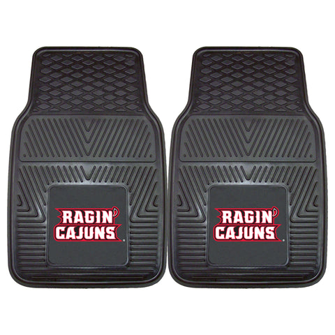 University of Louisiana-Lafayette 2-pc Front Vinyl Car Mats