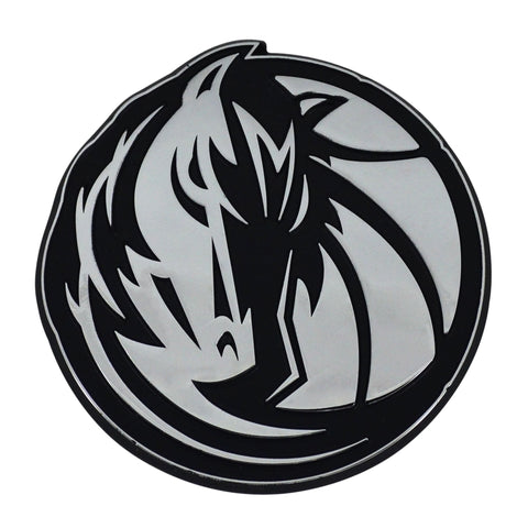 Dallas Mavericks 3D Chrome Emblem