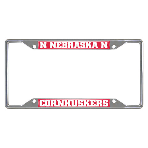 University of Nebraska  License Plate Frame
