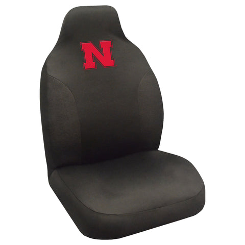 University of Nebraska Set of 2 Car Seat Covers