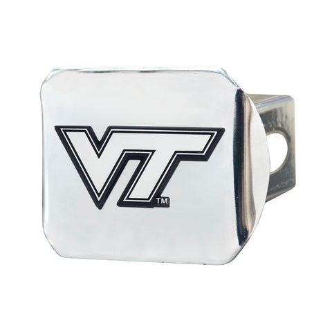 Virginia Tech Hokies Chrome Hitch Cover 3.4
