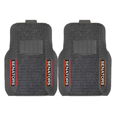 Ottawa Senators Car Truck Front (Vinyl/Carpet) & Rear (Vinyl) Floor Mats