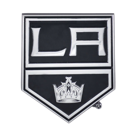 Los Angeles Kings 3D Chrome Emblem