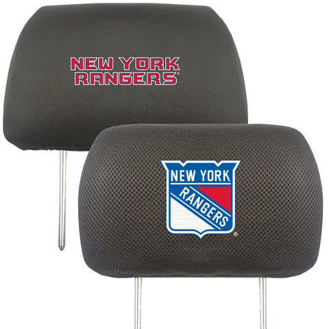 NHL - New York Rangers Set of Set of 2 Headrest Covers