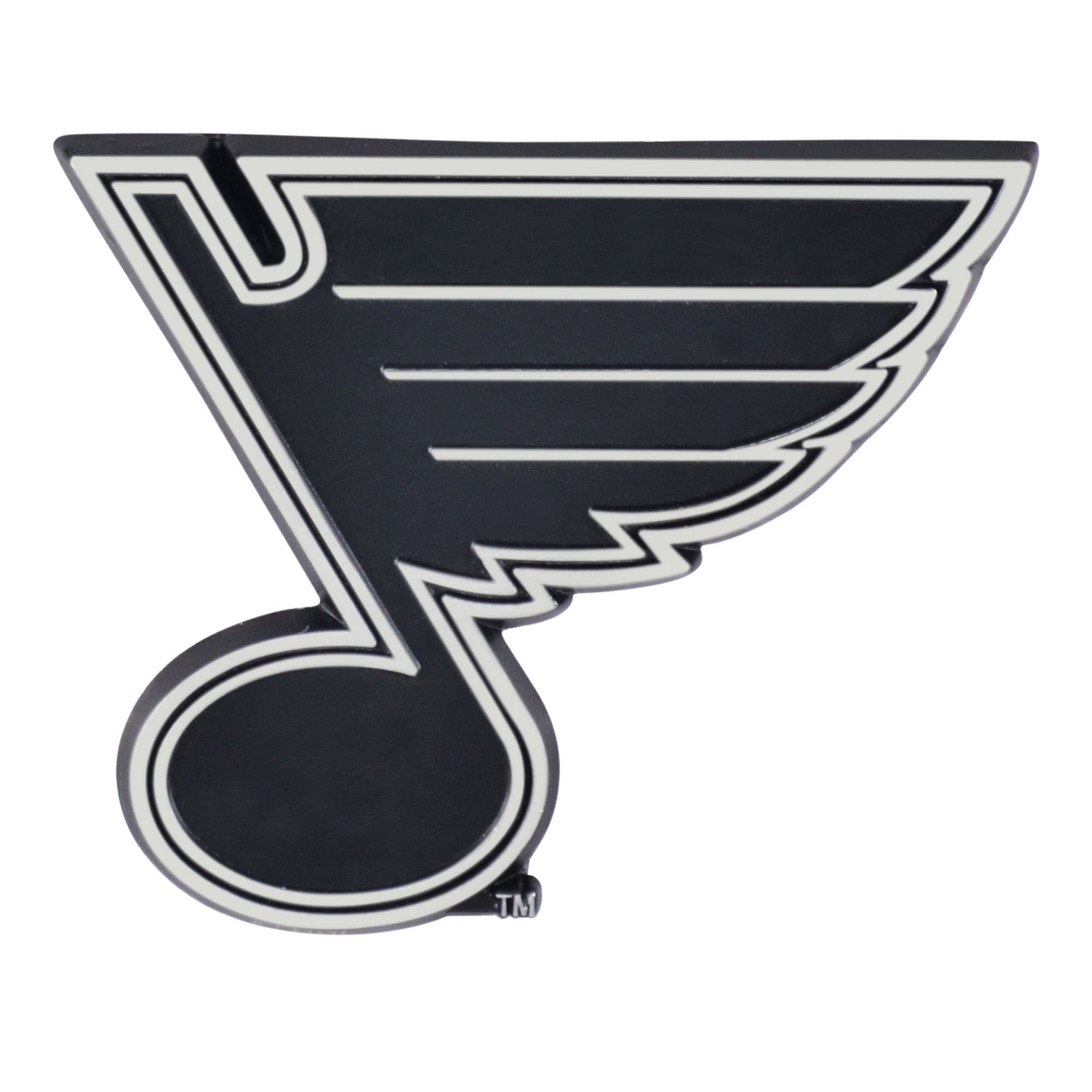 St. Louis Blues 3D Chrome Emblem