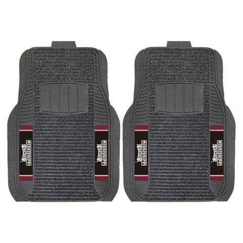 Mississippi State Bulldogs 2-pc Front (Vinyl/Carpet) Car Mat Set 21