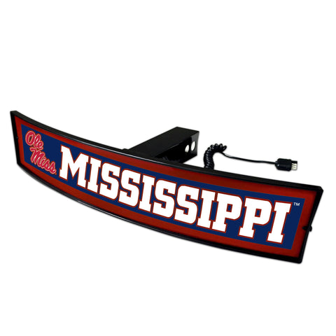 Ole Miss Rebels Light Up Hitch Cover 21