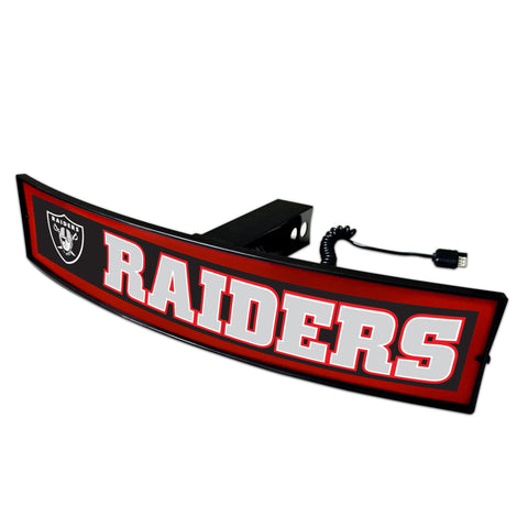 Las Vegas Raiders Light Up Hitch Cover 21