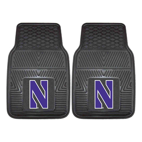 Northwestern University 2-pc Front Vinyl Car Mats