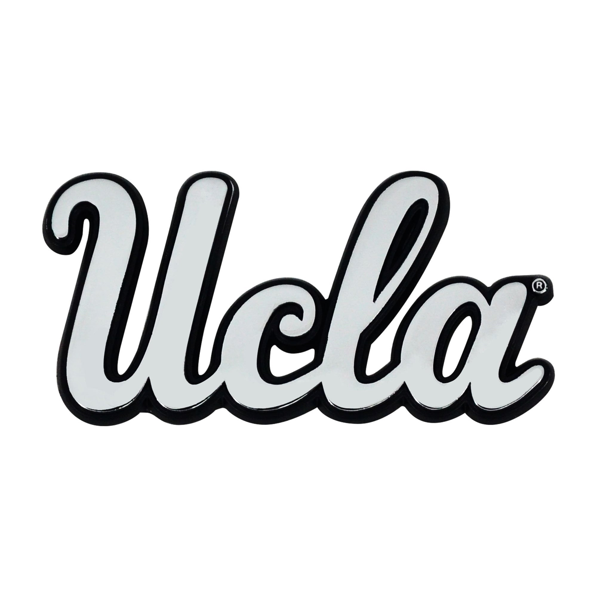 UCLA Bruins 3D Chrome Emblem