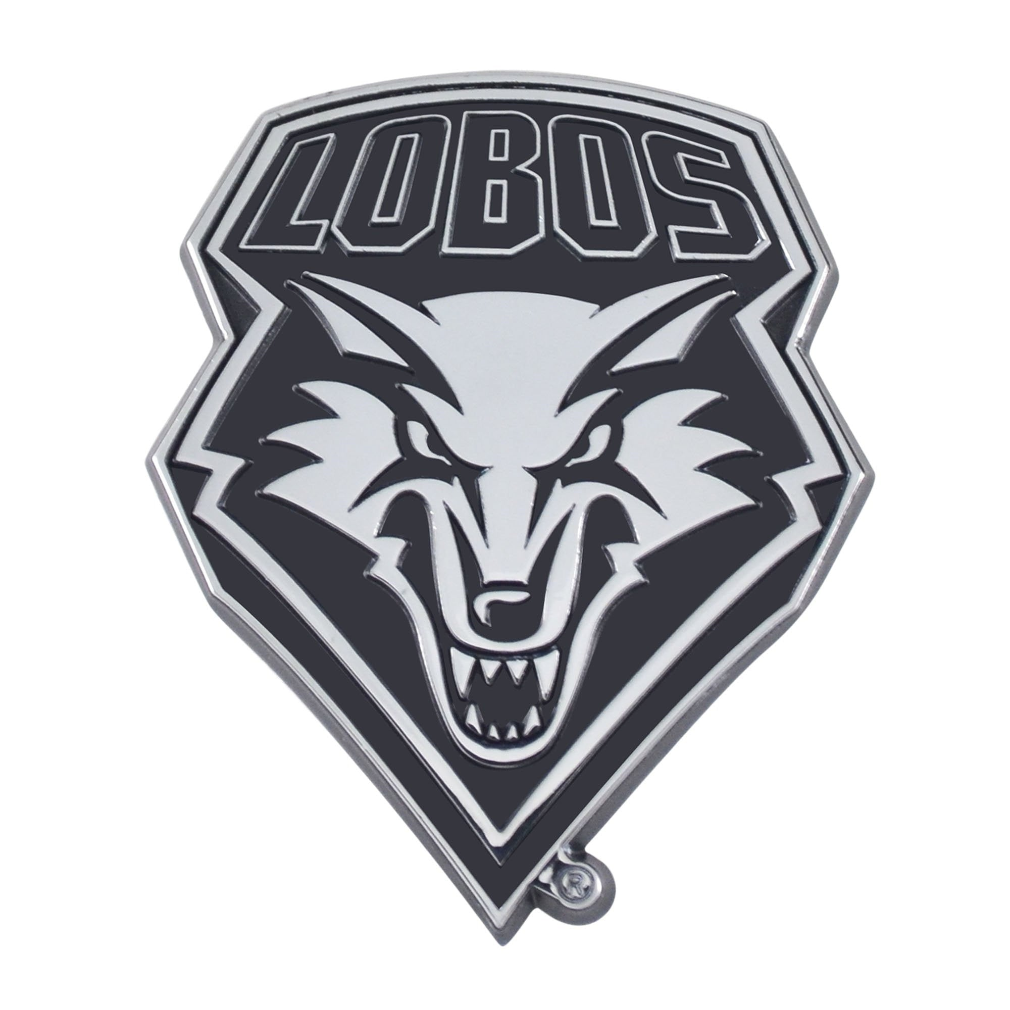 New Mexico Lobos 3D Chrome Emblem