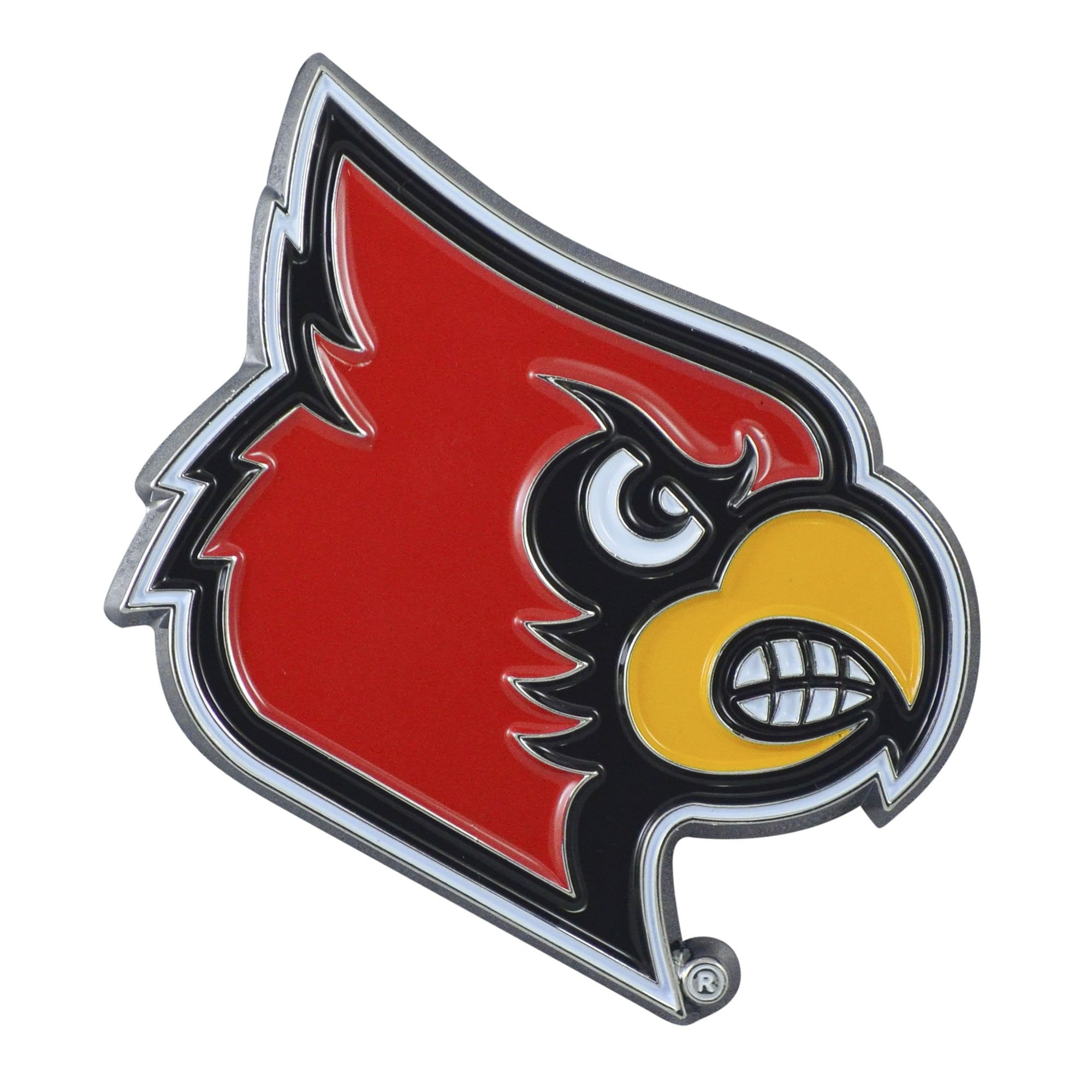 Louisville Cardinals 3D Color Emblem