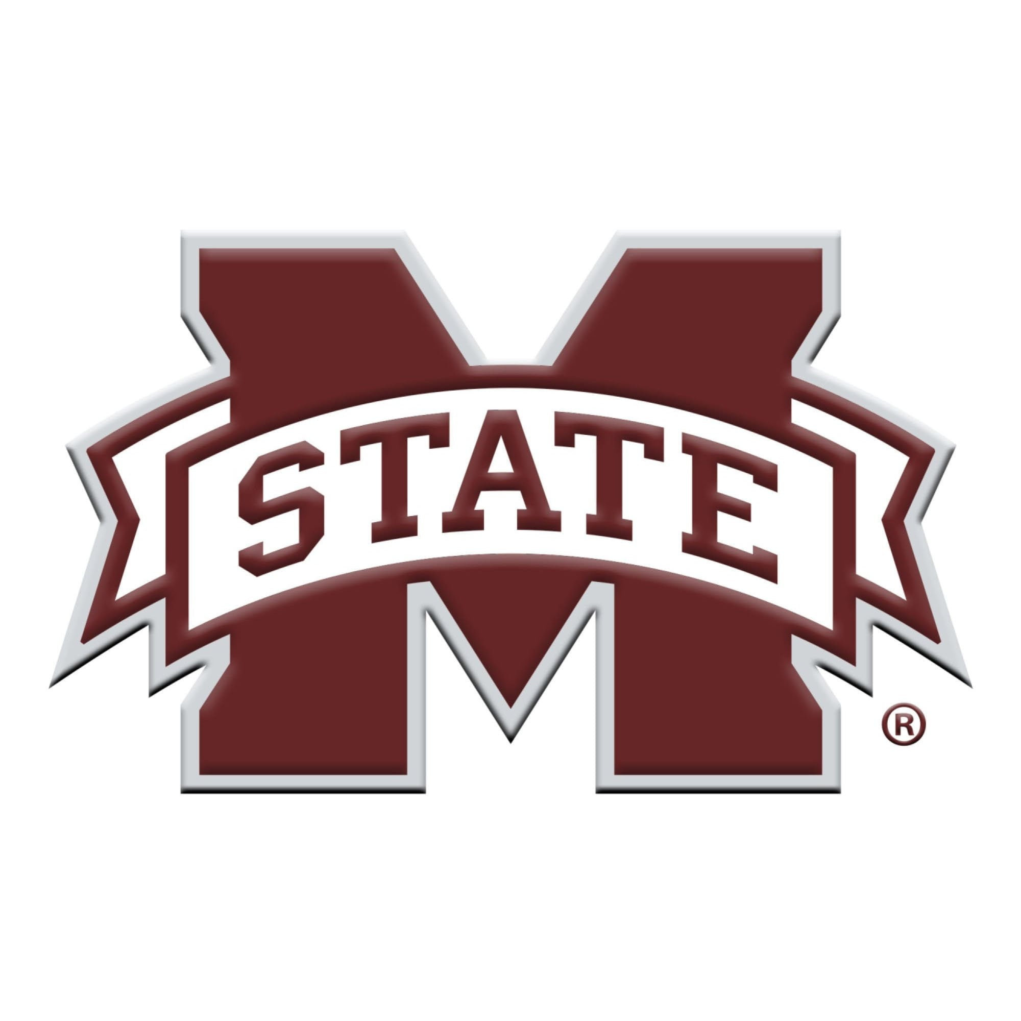 Mississippi State Bulldogs 3D Color Emblem