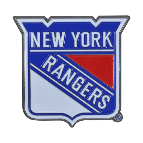 New York Rangers 3D Color Emblem