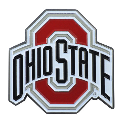 Ohio State Buckeyes 3D Color Emblem