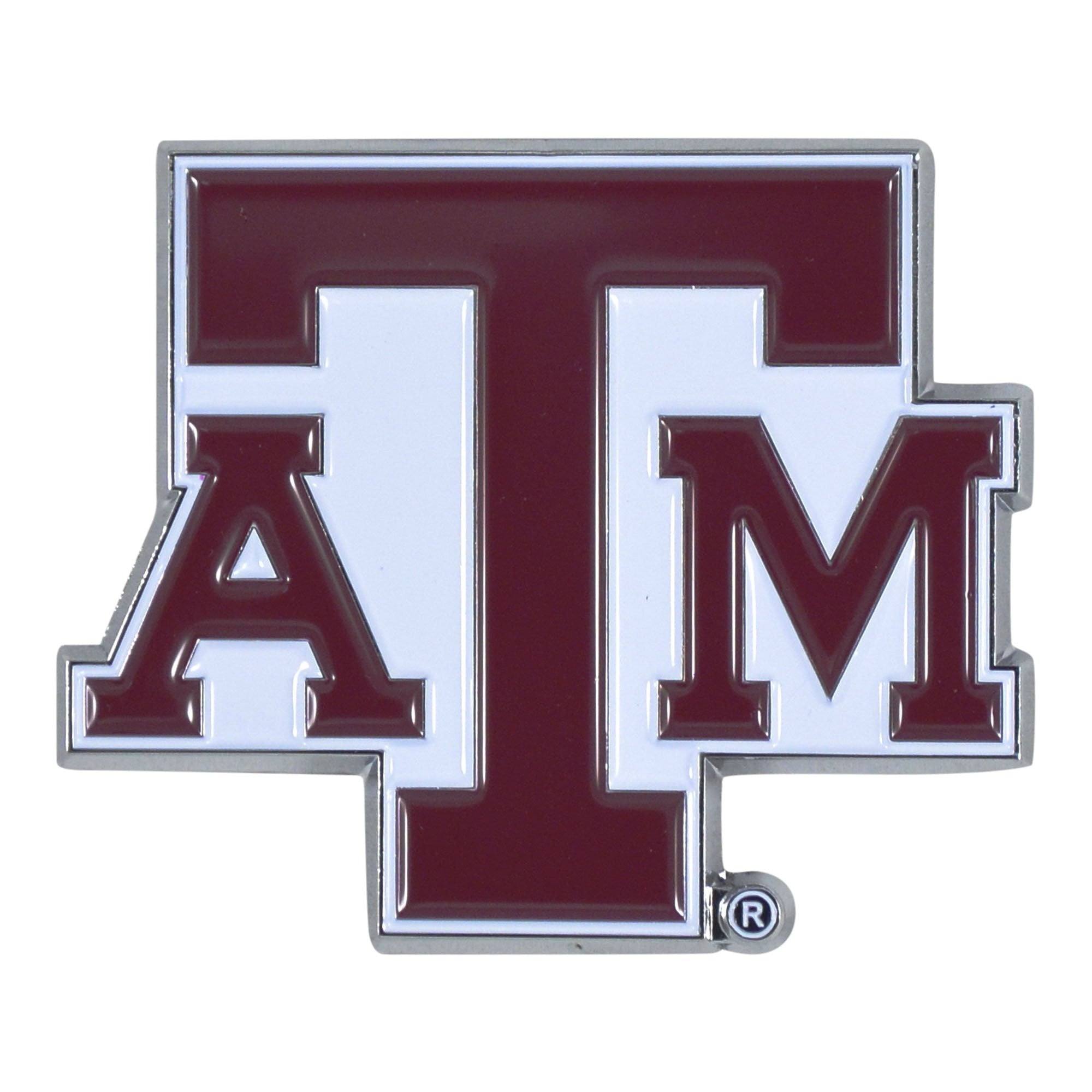Texas A&M Aggies 3D Color Emblem