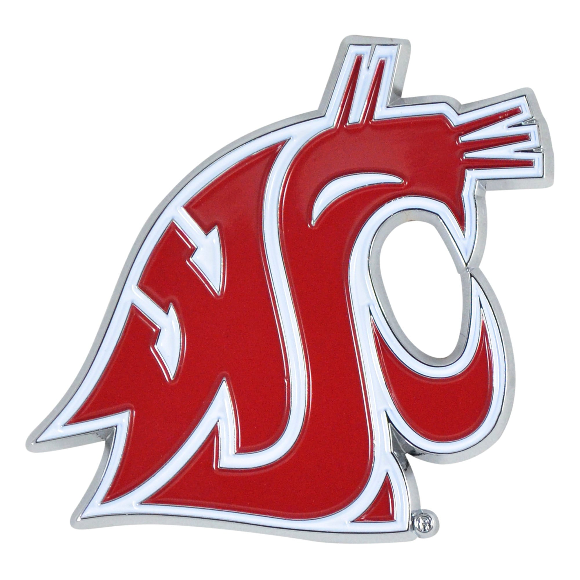 Washington State Cougars 3D Color Emblem