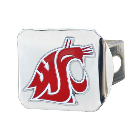 Washington State Cougars Color Hitch Cover 3.4