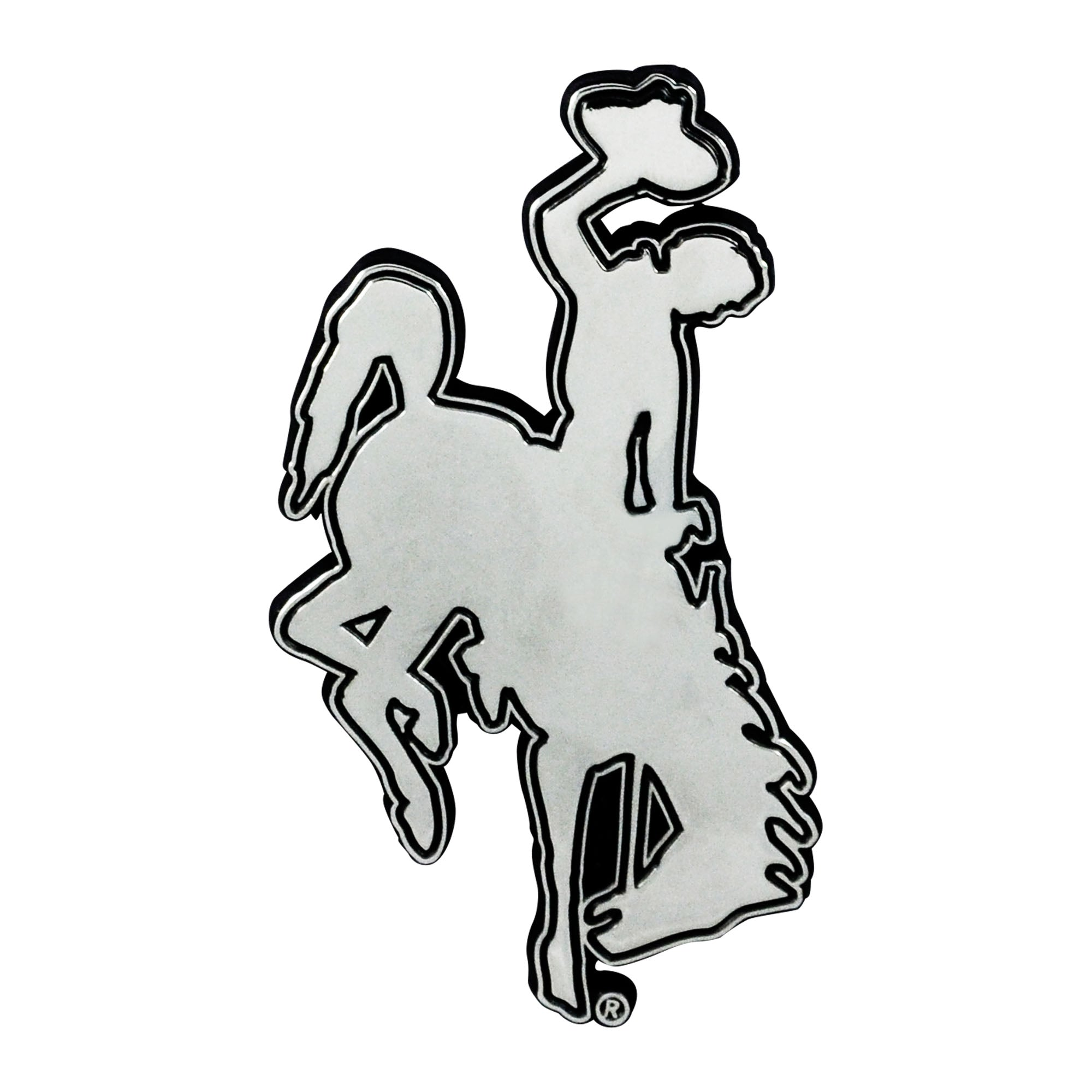 Wyoming Cowboys 3D Chrome Emblem