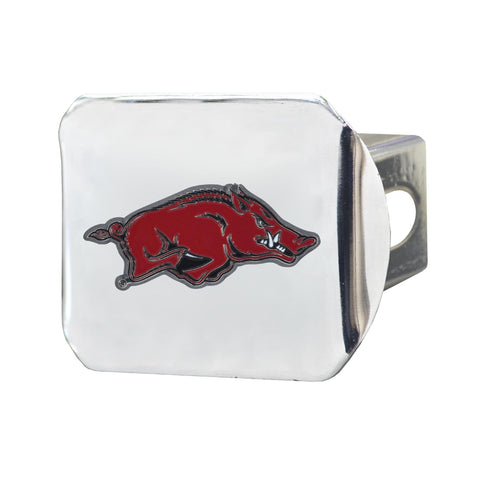 Arkansas Razorbacks Color Hitch Cover 3.4