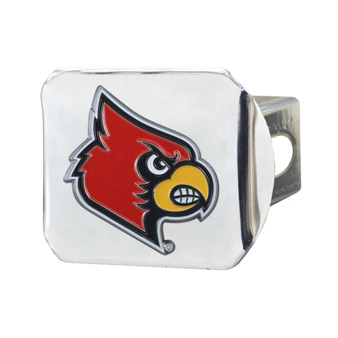 Louisville Cardinals Color Hitch Cover 3.4