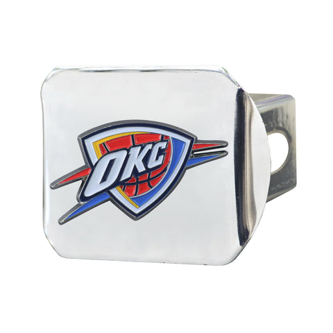Oklahoma City Thunder Color Hitch Cover 3.4