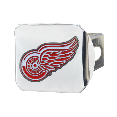 Detroit Red Wings Color Hitch Cover 3.4
