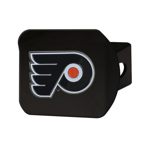 Philadelphia Flyers Color Hitch Cover - Black 3.4