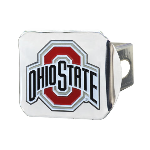 Ohio State Buckeyes Color Hitch Cover 3.4