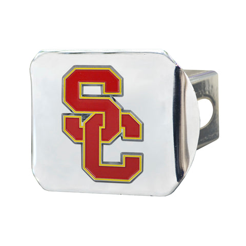 USC Trojans Color Hitch Cover 3.4
