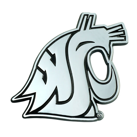 Washington State Cougars 3D Chrome Emblem