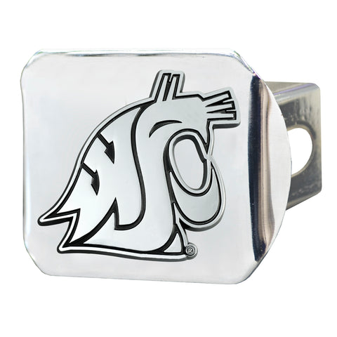 Washington State Cougars Chrome Hitch Cover 3.4