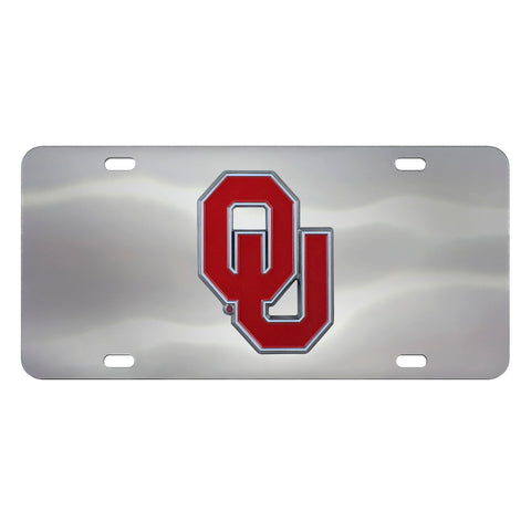 University of Oklahoma Diecast License Plate 12
