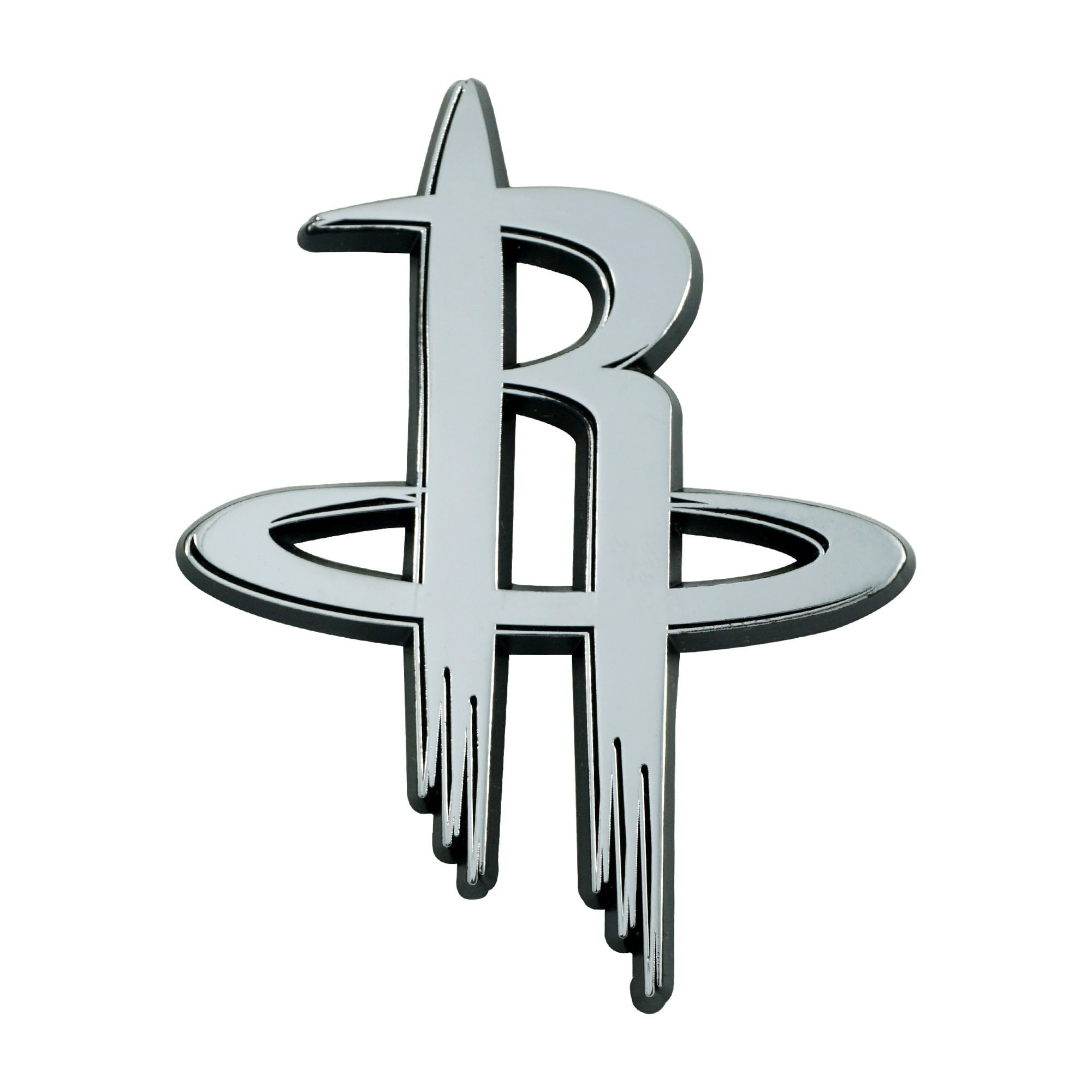 Houston Rockets 3D Chrome Emblem