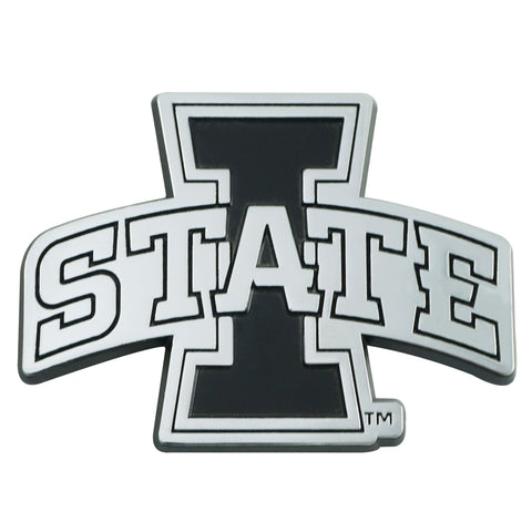 Iowa State Cyclones 3D Chrome Emblem