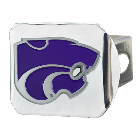 Kansas State Wildcats Color Hitch Cover 3.4