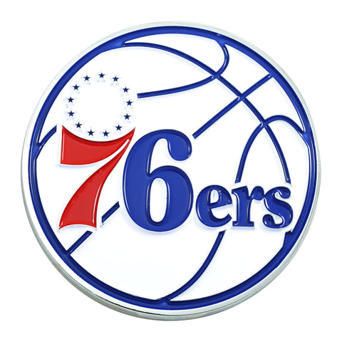 Philadelphia 76ers 3D Color Emblem