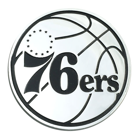 Philadelphia 76ers 3D Chrome Emblem