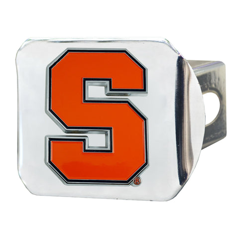 Syracuse Orange Color Hitch Cover 3.4