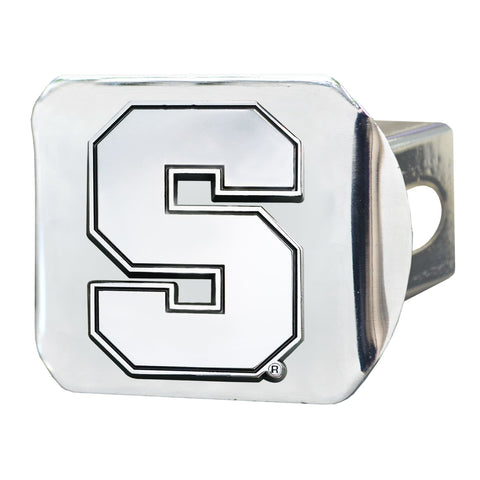 Syracuse University Chrome Hitch Cover- Chrome 3.4