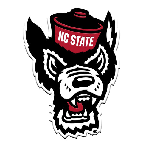 North Carolina State Wolfpack 3D Color Emblem