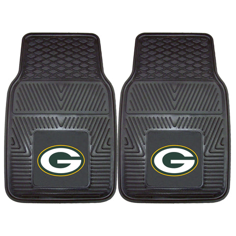 NFL - Green Bay Packers 2-pc Front Vinyl Car Mats