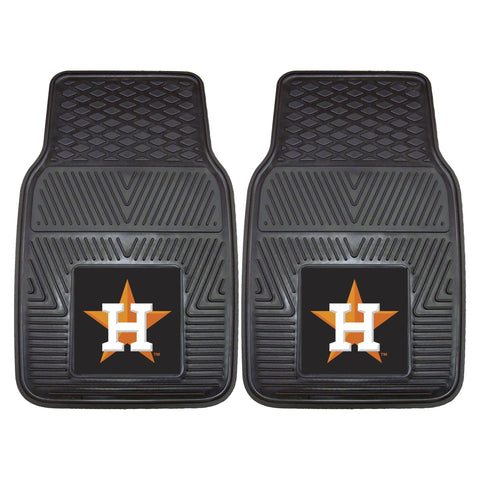 MLB - Houston Astros 2-pc Front Front Vinyl Car Mats