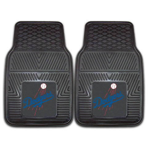 MLB - Los Angeles Dodgers 2-pc Front Front Vinyl Car Mats
