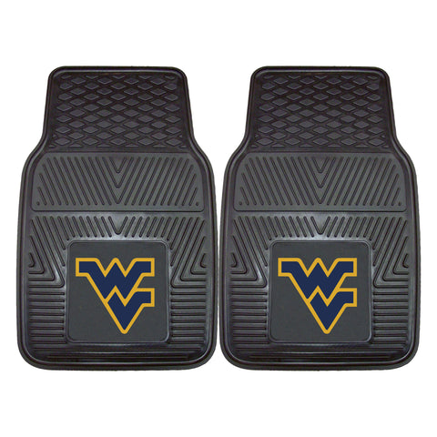 West Virginia University 2-pc Front Vinyl Car Mats